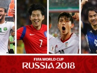 [MUTEX] - Tứ đại anh hào mang châu Á đến World Cup 2018