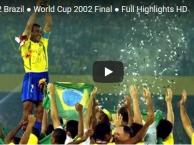 Chung kết World Cup 2002: Đức 0-2 Brazil