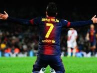 Sự đáng sợ của David Villa trong màu áo Barca