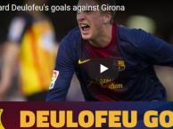 Deulofeu khi còn trẻ đã đá như Messi