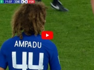 Màn ra mắt Chelsea của Ethan Ampadu vs Nottingham Forest