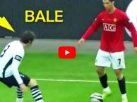 Khi Gareth Bale đụng độ với Cristiano Ronaldo lần đầu