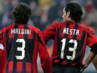 Sự kết hợp đáng sợ của Paolo Maldini và Nesta