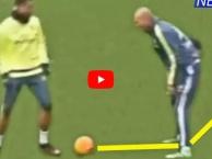 Quyết 'xỏ háng' Zidane, Cristiano Ronaldo bị 'bẽ mặt'.