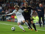 Highlights: Real Madrid 1-1 Tottenham (Bảng H - Champions League)