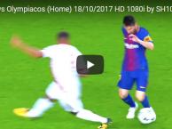 Màn trình diễn của Messi trước Olympiakos