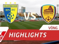 Hà Nội FC 1-0 Quảng Nam FC (Vòng 25 V-League 2017)
