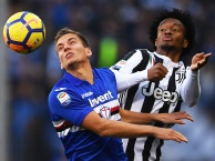 Highlights: Sampdoria 3-2 Juventus (Vòng 13 Serie A)