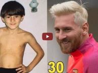 Lionel Messi thay đổi như thế nào từ 4 đến 30 tuổi?