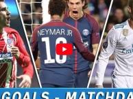 Tất cả các bàn thắng ở lượt trận thứ 5, vòng bảng Champions League