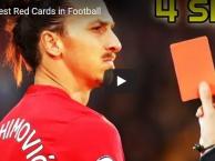 10 thẻ đỏ nhanh nhất trong lịch sử: 40 giây của Messi