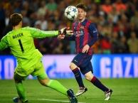 Màn đối đầu giữa Messi với 10 thủ thành xuất sắc nhất thế giới