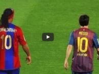 Lionel Messi và Ronaldinho, ai mới là vua ở Barcelona?
