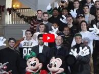 Dàn sao Paris Saint-Germain hí hửng đến thăm Disneyland