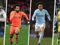 Top 10 cầu thủ nhanh nhất mùa 2017/18