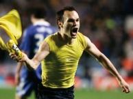 Siêu phẩm của Andres Iniesta khiến cả Stamford Bridge câm lặng