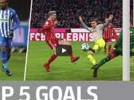 Lewandowski, Kagawa, Kalou và những bàn thắng đẹp nhất vòng 16 Bundesliga