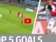 Top 5 bàn thắng đẹp nhất vòng 18 Bundesliga