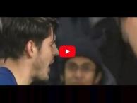 Pha ăn vạ dẫn đến thẻ đỏ của Alvaro Morata vs Norwich City