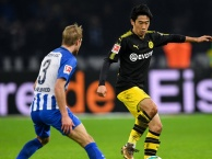 Highlights: Borussia Dortmund 1-1 Hertha Berlin (Vòng 19 Bundesliga)