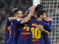 Highlights: Real Betis 0-5 Barcelona (Vòng 20 La Liga)
