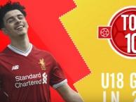 Những bàn thắng đẹp nhất của các 'lúa non' của Liverpool năm qua