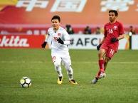 Bàn thắng gỡ hòa 1-1 của Nguyễn Quang Hải