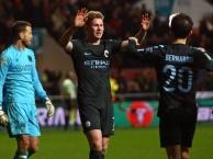 Kevin De Bruyne chơi đầy ấn tượng trước Bristol City