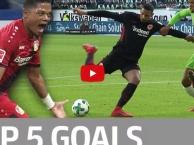 Top 5 bàn thắng đẹp nhất vòng 19 Bundesliga