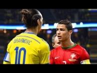 Khi Cristiano Ronaldo vs Zlatan Ibrahimovic cùng làm nên lịch sử