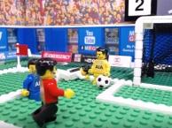 Quả Penalty oan nghiệt của Higuain được mô phỏng theo phong cách lego