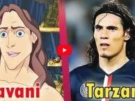 25 cầu thủ có gương mặt giống hệt nhân vật hoạt hình và phim ảnh