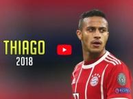 Màn trình diễn đẳng cấp của Thiago Alcantara mùa 2017/18