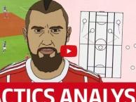 Video chiến thuật: Arturo Vidal toàn diện như thế nào?