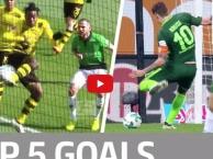 Batshuayi, Kalou và top 5 bàn thắng đẹp nhất vòng 27 Bundesliga