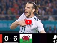Highlights: Trung Quốc 0-6 xứ Wales (giao hữu)