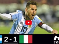 Lần đụng độ gần nhất của Argentina và Italia