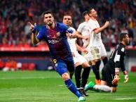 Highlighs: Barca 5-0 Sevilla (Chung kết cúp nhà vua TBN)