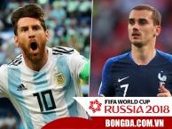 Vượt qua khe cửa hẹp, Argentina đụng Pháp ở vòng Knock out