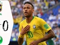 Highlights: Ả Rập Xê Út 0-2 Brazil (Giao hữu quốc tế)