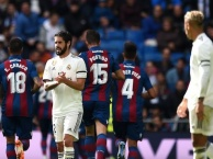 Highlights: Real Madrid 1-2 Levante (Vòng 9 La Liga)