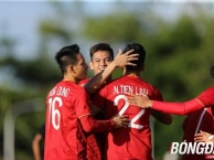 Highlights: U22 Việt Nam 6-1 U22 Lào (SEA Games 30)