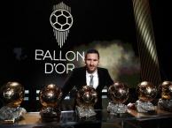 Messi lập kỷ lục lần thứ 6 giành Quả bóng Vàng