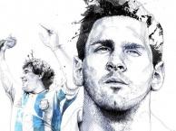 Sự giống nhau giữa Maradona và Messi