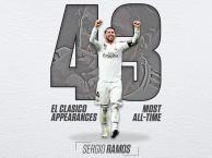 Sergio Ramos lập kỷ lục El Clasico