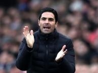 Arteta hài lòng với sự tiến bộ của Arsenal