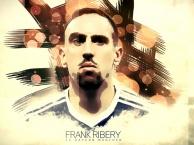 Tiền vệ ngôi sao: Franck Ribery