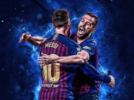 Jordi Alba và Lionel Messi: Sự kết hợp hoàn hảo