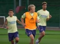 William Saliba tập luyện cùng Arsenal