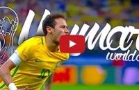 Đường đến World Cup 2018 của Neymar và tuyển Brazil